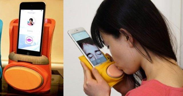 Uzak mesafeli ilişkilere teknolojik çözüm: Sanal öpücük