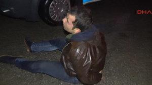Alkollü sürücü polisten kaçtı, yakalanınca af diledi