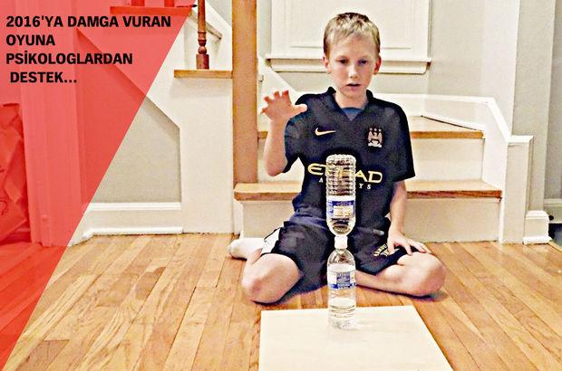 'Su şişesi durdurma' oyunu 2016'ya damgasını vurdu