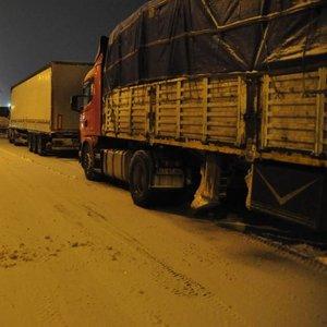 Ankara-Afyon yolu ulaşıma kapandı