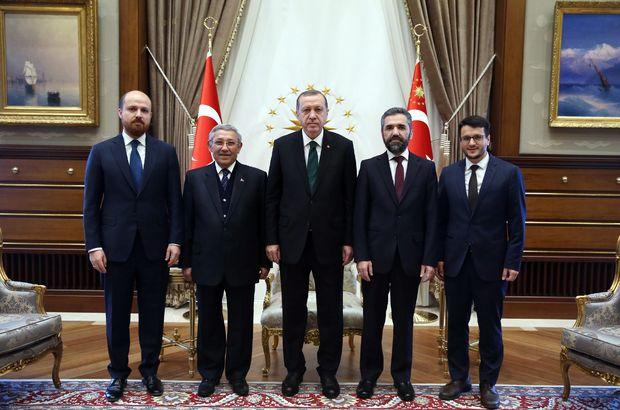 Erdoğan, İbn-i Haldun Üniversitesi Mütevelli Heyetini kabul etti