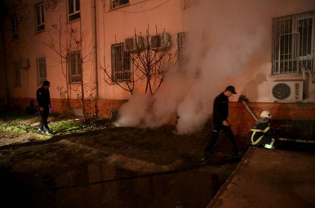 Gaziantep'te hastanede korkutan yangın
