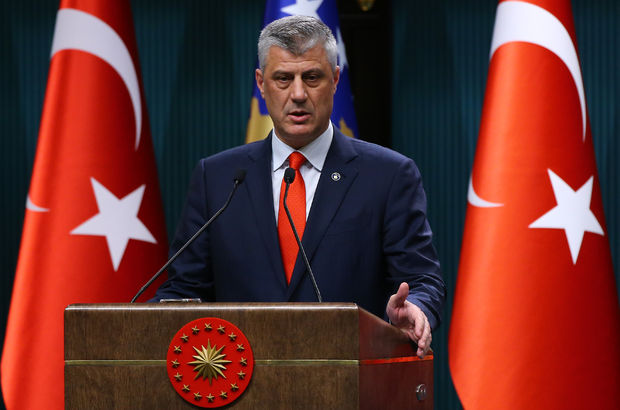 Kosova Cumhurbaşkanı Taçi: Türkiye'de terörist kimse, o Kosova için de teröristtir