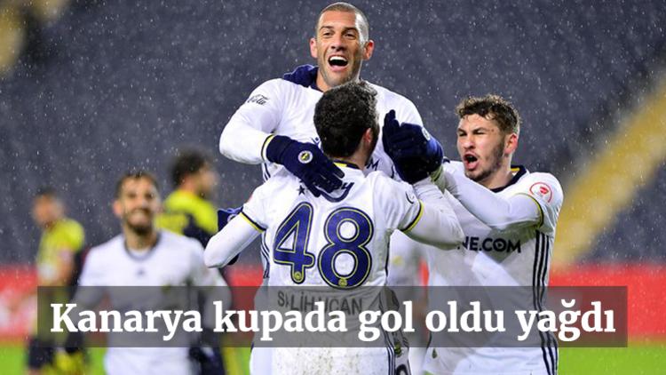 Ziraat Türkiye Kupası C Grubu 4. haftasında Fenerbahçe evinde Menemen Belediyespor'u 6-0 yendi.