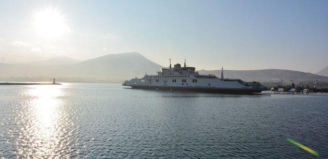 Türkiye'nin en büyük feribotu 15 Ocak'ta seferlere başlayacak