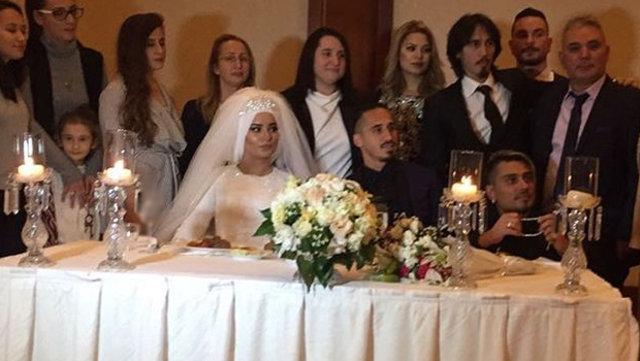 Serdar Özkan evlendi