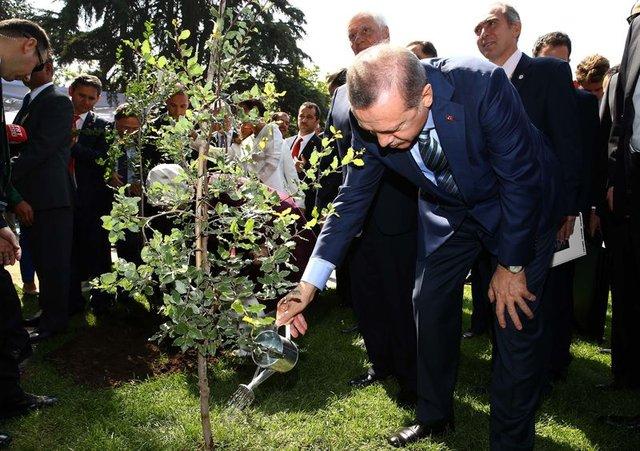 Cumhurbaşkanı Erdoğan dünyanın etrafını 4 kez dolaştı