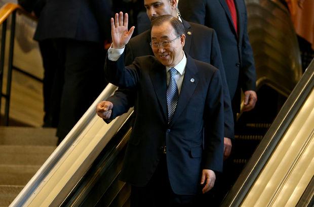 Ban Ki-mun BM'ye veda etti