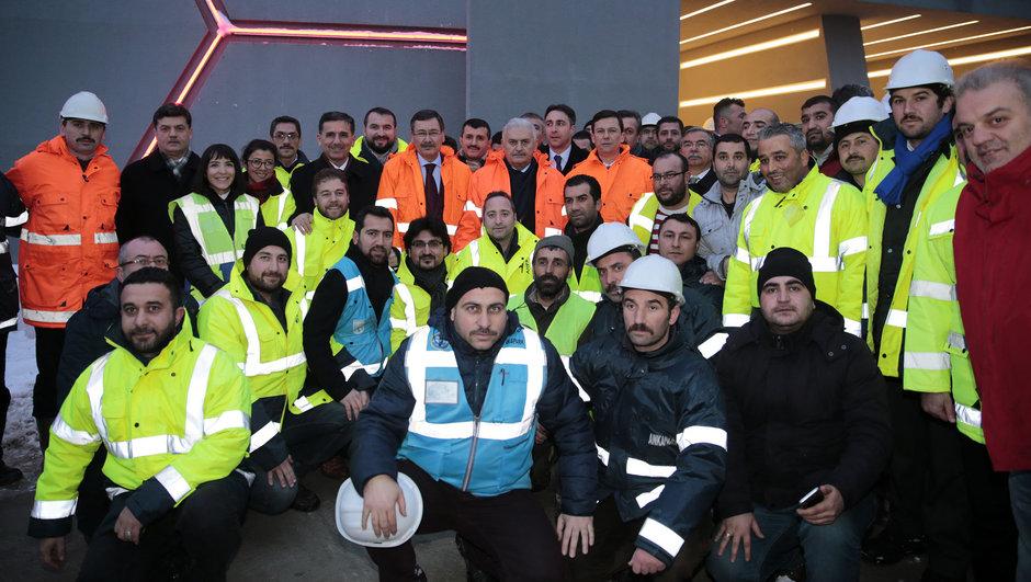 Binali Yıldırım Melih Gökçek Ankapark Ankara