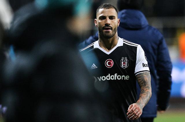 Beşiktaş'ta Ricardo Quaresma isyan etti