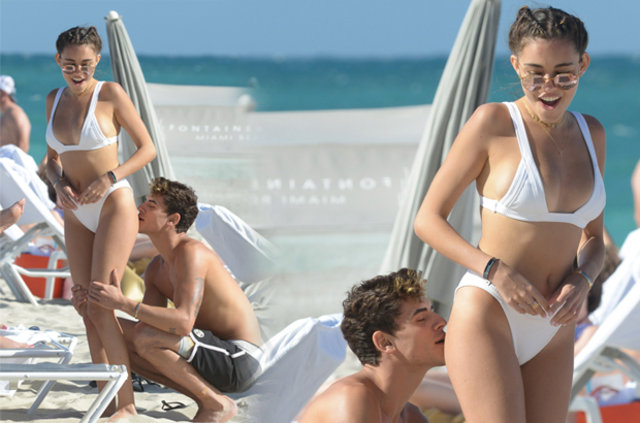 Madison Beer Miami'de