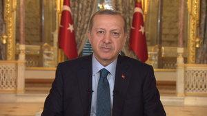 Cumhurbaşkanı Erdoğan'ın 2017 mesajı
