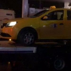 Saldırgan bu taksiyle mi geldi?