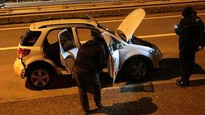 Şüpheli araç polisi harekete geçirdi