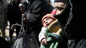 Musul'da 2,5 ayda 145 bin kişi göç etti
