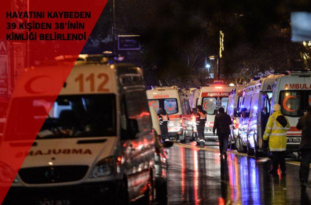 Reina'ya terör saldırısı! 39 kişi hayatını kaybetti, 65 kişi yaralandı