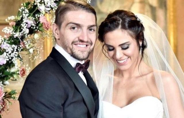 Caner Erkin ve Şükran Ovalı evlendi