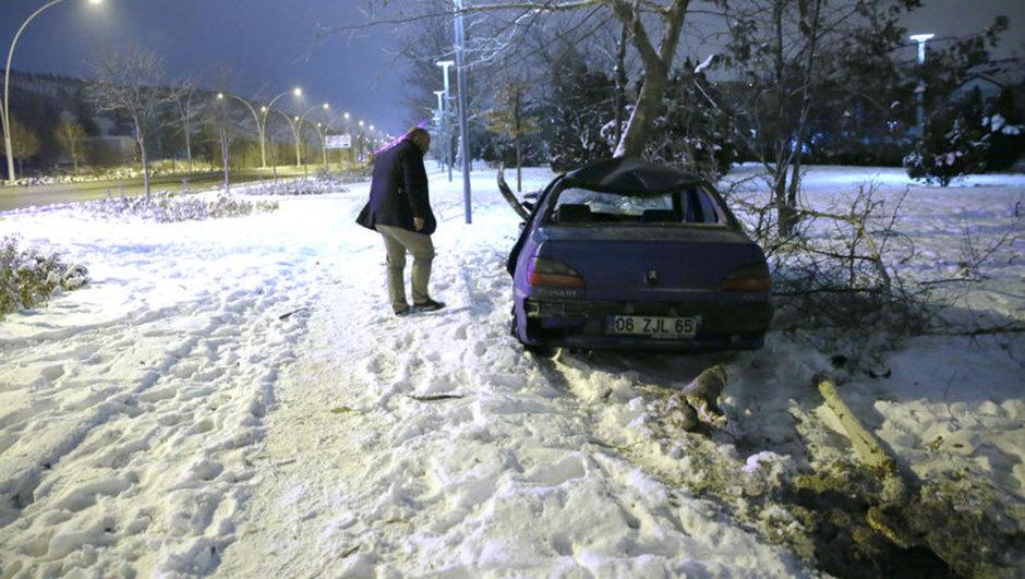Ankara trafik kazası: