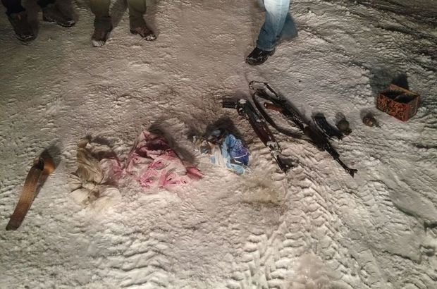 Eylem hazırlığındaki PKK'lılar yakalandı!