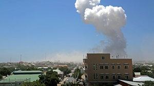 Mogadişu Havalimanı yakınlarında patlama: 13 ölü