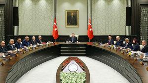 Bakanlar Kurulu, Cumhurbaşkanlığı Külliyesi'nde toplandı