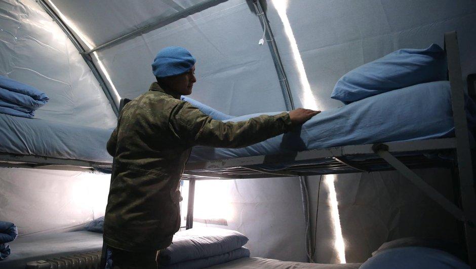 Suriye Fırat Kalkanı Harekat Türk askeri ihtiyaç yiyecek