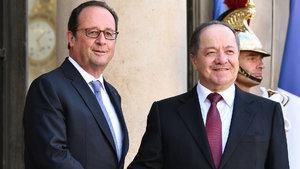 François Hollande: Fransa her zaman Kürt halkının yanında