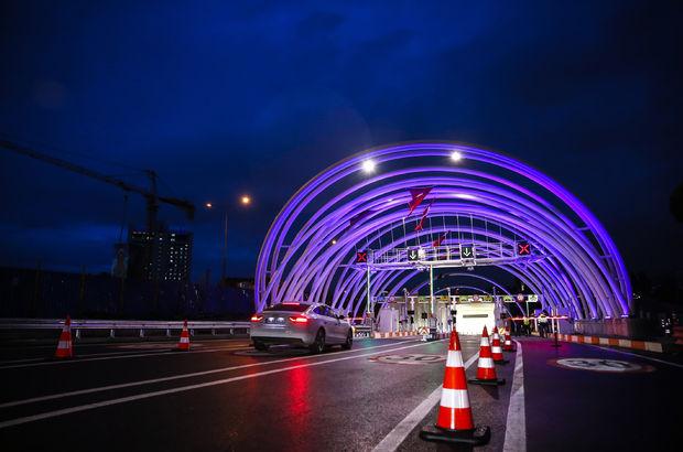 Avrasya Tüneli'nde geçiş ücretleri açıklandı