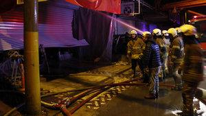 İzmir Bornova'da yangın: 1 ölü