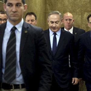 Netanyahu  3 saat ifade verdi