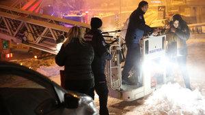 Ankara'da yangın: 30 kişi hastaneye kaldırıldı