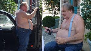 Gerard Depardieu son görüntüsüyle şaşırttı