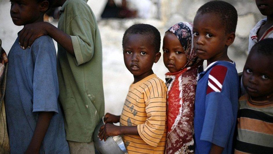 Nijerya Açlık Kıtlık çocuk