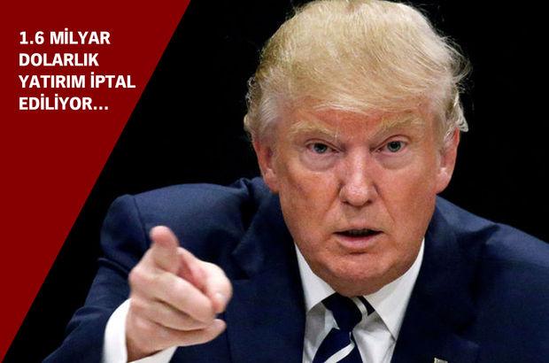 Dev şirket Trump'ın çağrısına uydu