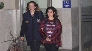 Adana'da yakalanan kadın terörist tutuklandı