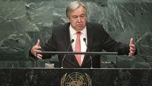 BM Genel Sekreteri Guterres: Türk halkı korkunç bir terör saldırısının kurbanı oldu