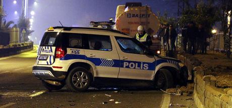 Aydın'da polis aracı kaza yaptı: 2 polis şehit