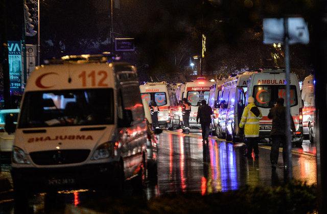 Reina'ya saldıran teröristin katliam sonrası rotası...
