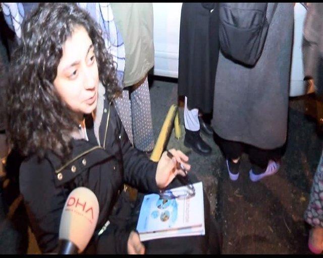 İstanbul Fatih'te kız öğrenci yurdunda yangın!
