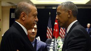 Cumhurbaşkanı Erdoğan ile Barack Obama görüştü