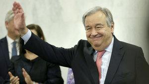 BM yeni Genel Sekreteri Guterres, göreve başladı