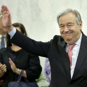BM'nin yeni Genel Sekreteri göreve başladı