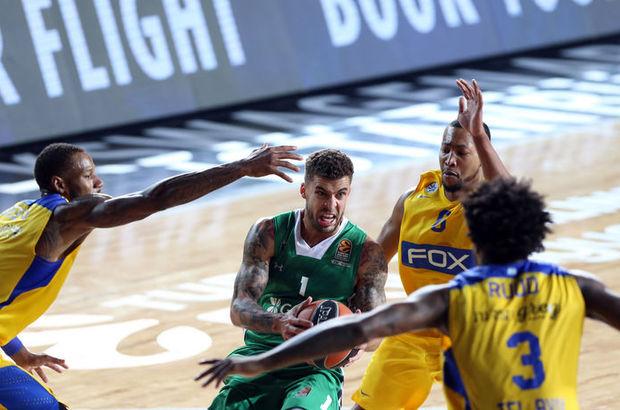 Maccabi FOX - Darüşşafaka Doğuş maçı