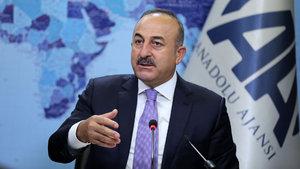 Dışişleri Bakanı Çavuşoğlu AA Editor Masası'nda