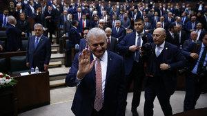 Başbakan Yıldırım milletvekilleriyle bir araya geldi