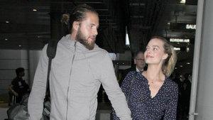 Margot Robbie ve eşi Tom Ackerley balayından döndü