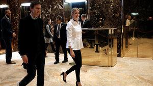 Trump'ın kızına başkentte 'saray yavrusu'!
