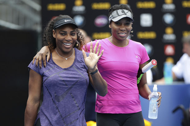 Serena ile Venus Williams