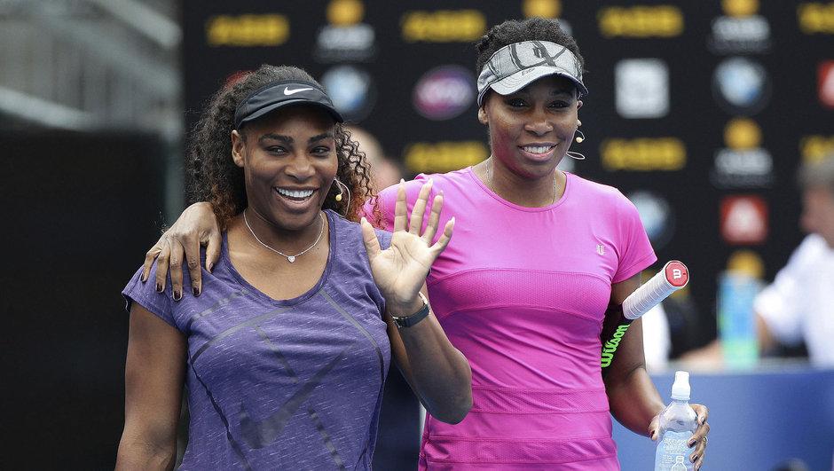 Serena ile Venus Williams