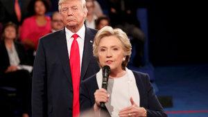 Clinton ve Trump yeniden yan yana gelecek!